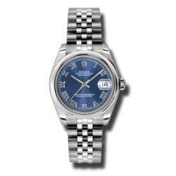 Rolex Lady Datejust 31mm Blue Roman Jubilee 178240