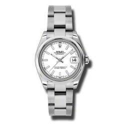 Rolex Lady Datejust 31mm White/index Oyster 178240