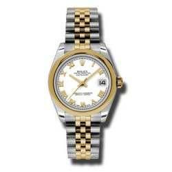 Rolex Lady Datejust 31mm White Roman Jubilee 178243