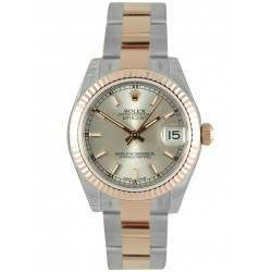 Rolex Lady Datejust 31mm Silver/index Oyster 178271