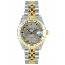 Rolex Lady Datejust 31mm Steel Roman Jubilee 178273
