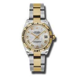 Rolex Lady Datejust 31mm White mop Roman Oyster 178273