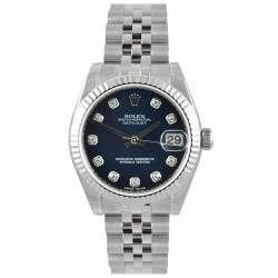 Rolex Lady Datejust 31mm Blue/diamond Jubilee 178274