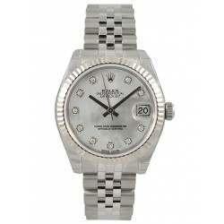 Rolex Lady Datejust 31mm White mop/diamond Jubilee 178274