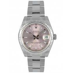 Rolex Lady Datejust 31mm Pink/index Oyster 178274
