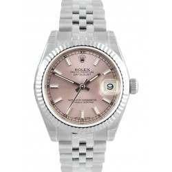 Rolex Lady Datejust 31mm Pink/index Jubilee 178274
