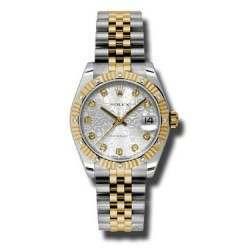 Rolex Datejust 31mm Steel&Yellow Gold Silver /DMD Jubilee 178313
