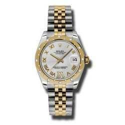 Rolex Lady Datejust 31mm Silver Roman Jubilee 178343