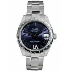 Rolex Lady Datejust 31mm Purple Dial/ Oyster 178344