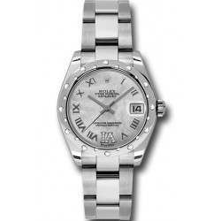 Rolex Lady Datejust 31mm White mop Roman Oyster 178344