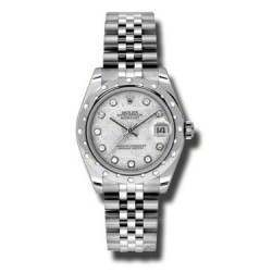 Rolex Lady Datejust 31mm Meteorite/diamond Jubilee 178344