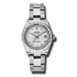 Rolex Lady Datejust 31mm Meteorite/diamond Oyster 178344