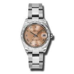 Rolex Lady Datejust 31mm Pink Roman Oyster 178344