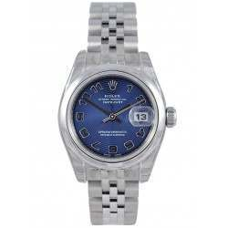Rolex Lady-Datejust Blue Arab Concentric Jubilee 179160