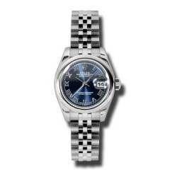 Rolex Lady-Datejust Blue Roman Jubilee 179160