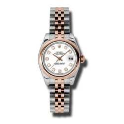Rolex Lady-Datejust White/Diamond Jubilee 179161