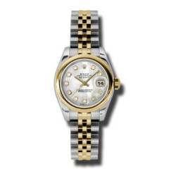 Rolex Lady-Datejust White mop/Diamond Jubilee 179163