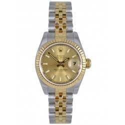 Rolex Lady-Datejust Champagne Dial Jubilee 179173