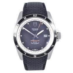 Tudor Grantour Date Watch Leather 20500N - As New
