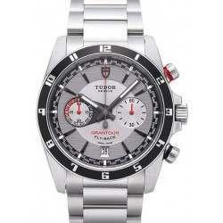 Tudor Grantour Chrono Fly-Back Watch Grey Dial 20550N