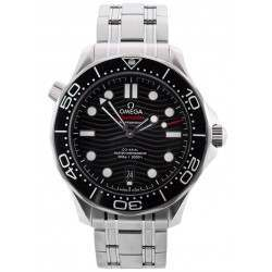As New Omega Seamaster Diver 300M Co-Axial Master Chronometer 210.30.42.20.01.001
