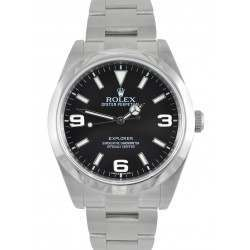 Rolex Explorer I Black Dial Oyster 214270