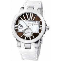 Ulysee Nardin Executive Dual Time Lady 243-10-3/30-05