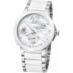 Ulysee Nardin Executive Dual Time Lady 243-10-7/691