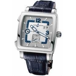 Ulysee Nardin Quadrato Dual Time 243-92/601