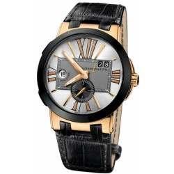 Ulysee Nardin Executive Dual Time 43mm 246-00/421