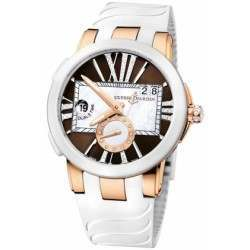 Ulysee Nardin Executive Dual Time Lady 246-10-3/30-05