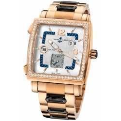 Ulysee Nardin Quadrato Dual Time 246-92B-8M/600