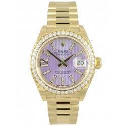 Rolex Lady Datejust 28 Yellow Gold 279138RBR