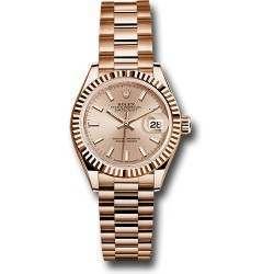 Rolex Lady Datejust 28 Everose gold 279175