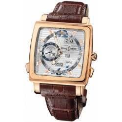 Ulysee Nardin Quadrato Dual Time Perpetual 326-90/91