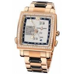 Ulysee Nardin Quadrato Dual Time Perpetual 326-90B-8M/61