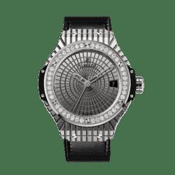 Hublot Big Bang Steel Caviar Diamonds 41mm 346.SX.0870.VR.1204