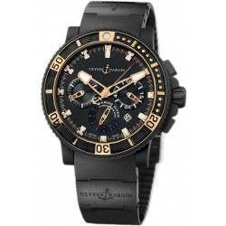 Ulysse Nardin Maxi Marine Diver Black Sea Chronograph 353-90-3C