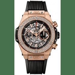 Hublot Unico King Gold Diamonds 411.OX.1180.RX.1104