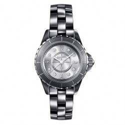 Chanel J12 Silver Dial Titanium Bracelet H3401