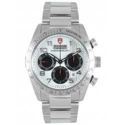 Tudor Fastrider Chronograph Steel White Dial 42000