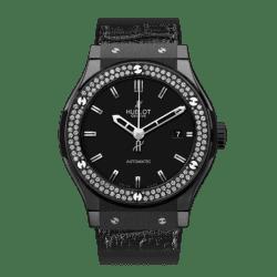 Hublot Classic Fusion Black Magic Diamonds 45mm 511.CM.1170.LR.1104