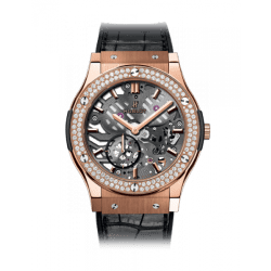 Hublot Classic Fusion Classico Ultra-Thin skeleton King Gold