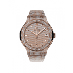 Hublot Classic Fusion King Gold Bracelet Full 565.OX.9010.OX.3704