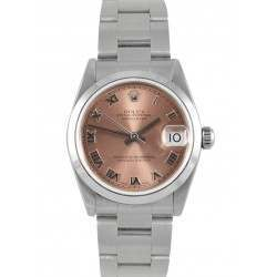 Rolex Lady Datejust Pink/ Roman Oyster 68240