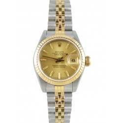 Rolex Lady Datejust Champagne/ Index Jubilee 69173