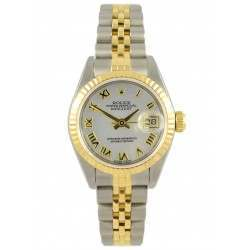 Rolex Lady DateJust Steel & Gold MOP Dial - 79173