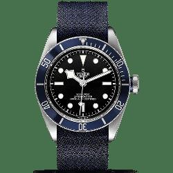 Tudor Heritage Black Bay Blue Fabric 79230B
