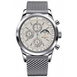 Breitling Transocean Chronograph 1461 Caliber 19 Automatic Chronograph A1931012.G750.154A