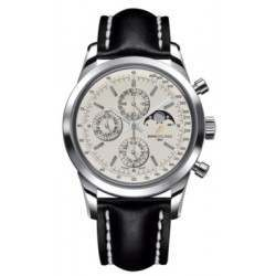 Breitling Transocean Chronograph 1461 Caliber 19 Automatic Chronograph A1931012.G750.435X